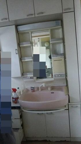 洗面化粧台全体①